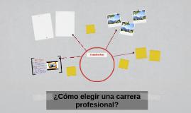 ¿Cómo elegir una carrera profesional?