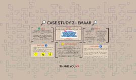CASE STUDY 2 - EMAAR