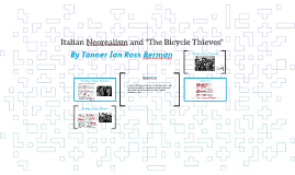 "Copy of Italian Neorealism and ""The Bicycle Thief"""