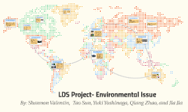 Copy of LDS Project- Environmental Issue
