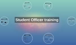 Student Officer training