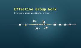 Effective Group Work