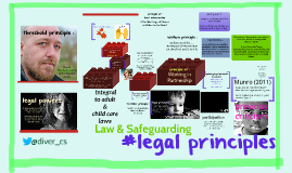 legal principles : law and safeguarding