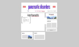 pancreatic disorders