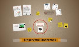 Observatie Onderzoek
