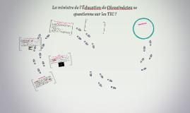 La ministre de l'Éducation de Olouaindetou se questionne su