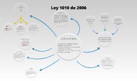 Mapa Mental Ley 1010 de 2006