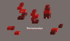 Romananalys