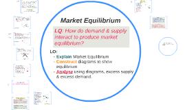3.1 Equilibrium