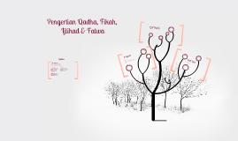 Copy of Pengertian Qadha, Fikah, Ijtihad dan Fatwa