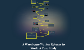 A Warehouse worker returns to work