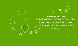 Seminario de Título: Presentación Proyecto