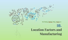 Copy of Location Factors and Manufacturing