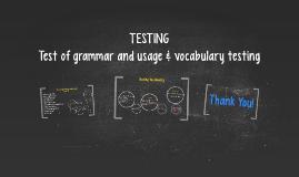Copy of TESTING