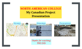 North American College Project Presentation
