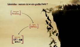 Exposé d'allemand sur Léonidas