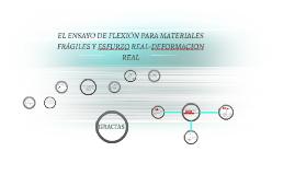 El ensayo de flexión para materiales frágiles