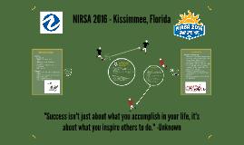 NIRSA 2016 - Student Development