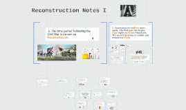 Reconstruction Notes I & II