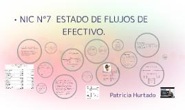 NIC N°7  ESTADO DE FLUJOS DE EFECTIVO
