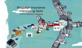 Baggage insurance