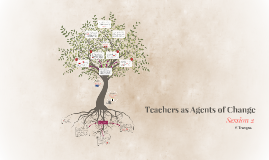 Teachers as Agents of Change -Session 2