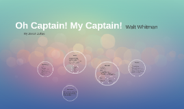 Oh Captain! My Captain!