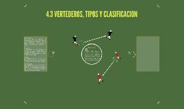 Copy of 4.3 VERTEDEROS, TIPOS Y CLASIFICACION