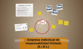 Copy of Empresa individual de responsabilidad limitada (E.I.R.L)