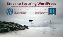 Steps to Securing WordPress
