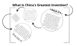 China's Greatest Invention?