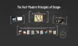 The Post-Modern Principles of Design:
