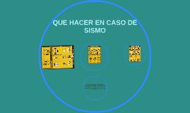 Copy of APRENDAMOS QUE HACER EN CASO DE UN TERREMOTO
