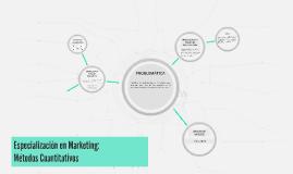 Especialización en Marketing: