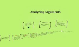 Chapter 3 - Analysing Arguments