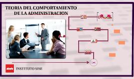 TEORIA DEL COMPORTAMIENTO DE LA ADMINISTRACION