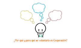 Concejalía de Cooperación (Voluntariado)