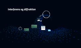 Interferens og diffraktion