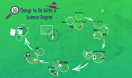 50 Things You Can Do with a Science Degree