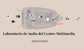 Laboratorio de Audio del Centro Multimedia