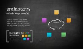 Cópia de Modelo para Brainstorm - Mapa Mental