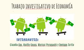 Trabajo investigativo de Economía
