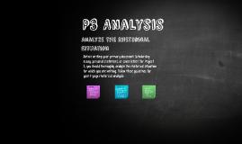 P3 Analysis