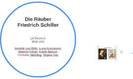 Copy of Die Räuber