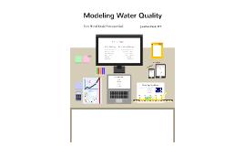 Modeling Water Quality v1 - JEF BCWWA 2013