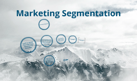 Marketing Segmentation1