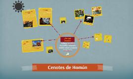 Cenotes de Homún