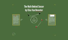 The Math Behind Soccer