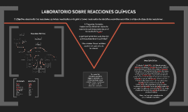 Laboratorio sobre reacciones quimicas