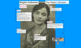 Regina Anderson